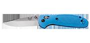 Mini Griptilian - Lame 74mm - Manche GFN Bleu - Clip réversible