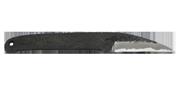 Kaze - Lame 65mm - Manche acier - Etui cuir