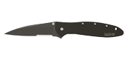 Leek Black Serrated