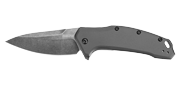 Link Gray Aluminium Blackwash - Lame 84mm - Manche Aluminium - Clip réversible