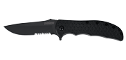 Volt II Black Serrated
