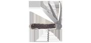 Couteau de chasse - 4 pièces