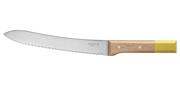 Couteau à pain Pop (jaune) N°116 - Lame 210mm - Manche hêtre