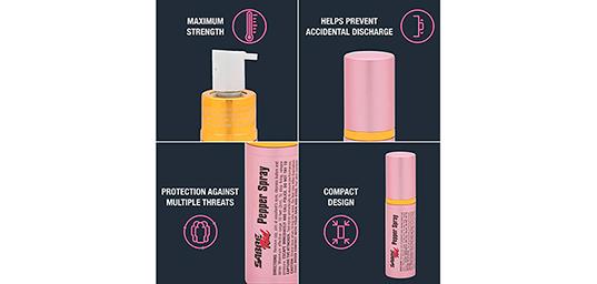 2en1 Lipstick Pepper Spray
